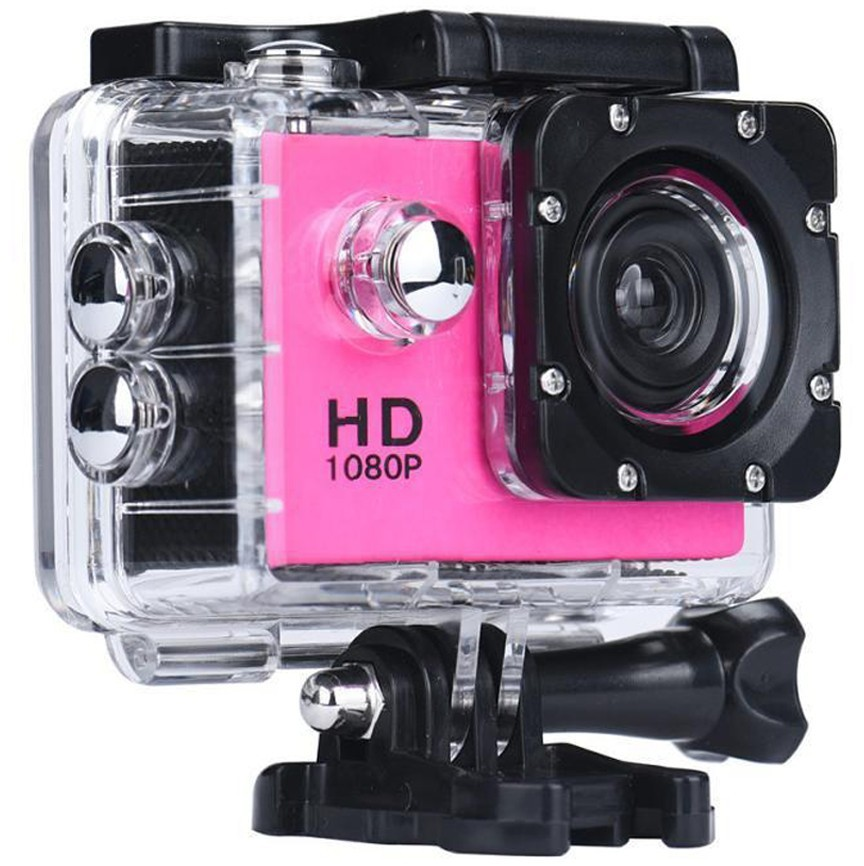 Camera Sport iUni Dare 50i HD 1080P, 12M, Waterproof, Roz
