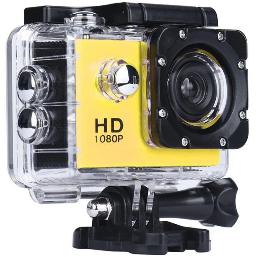 Camera Sport iUni Dare 50i HD 1080P, 12M, Waterproof, Galben imagine techstar.ro 2021