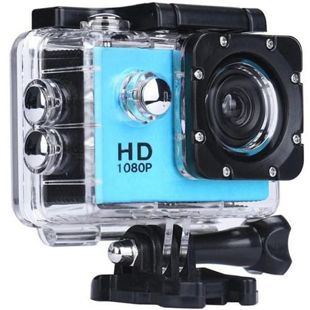 Camera Sport Iuni Dare 50i Hd 1080p, 12m, Waterproof, Albastru