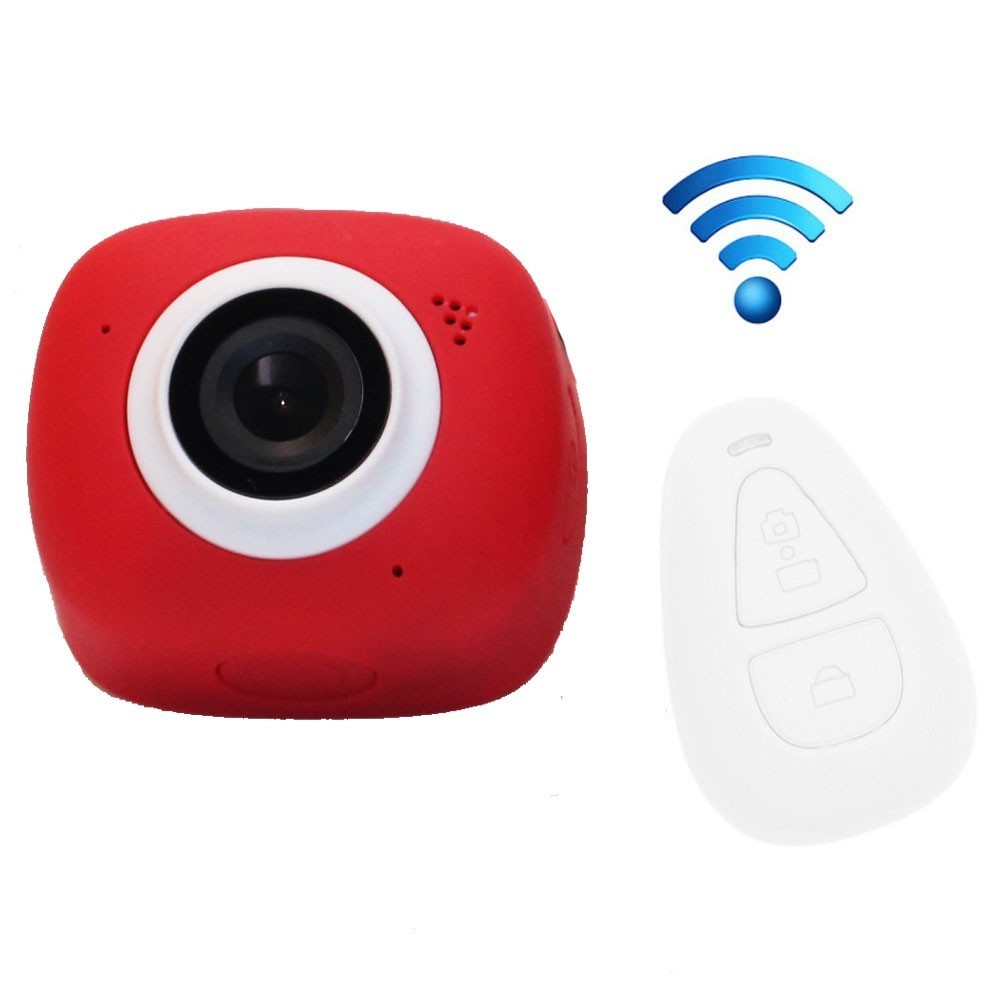 Camera Sport iUni Dare G3i Red, Full HD, WiFi, Telecomanda imagine techstar.ro 2021