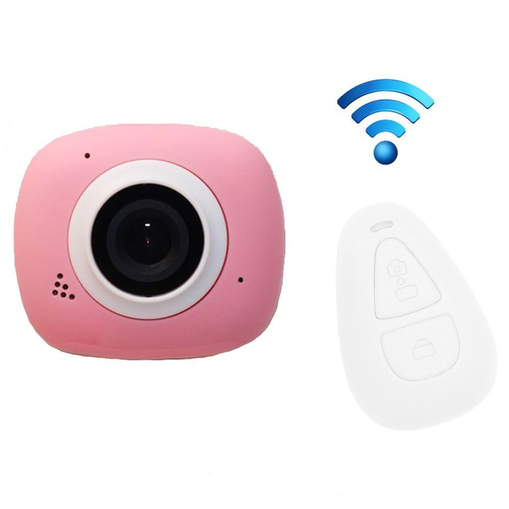 Camera Sport iUni Dare G3i Pink, Full HD, WiFi, Telecomanda imagine techstar.ro 2021