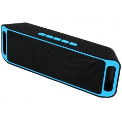 Boxa Portabila Bluetooth iUni DF02, USB, TF CARD, AUX-IN, Fm radio, Albastru