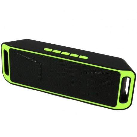 Boxa Portabila Bluetooth iUni DF02, USB, TF CARD, AUX-IN, Fm radio, Verde