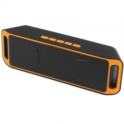 Boxa Portabila Bluetooth iUni DF02, USB, TF CARD, AUX-IN, Fm radio, Portocaliu