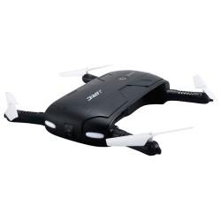 Drona iUni N37, Brate Pliabile, WiFi, Transmisie live pe Telefon, Leduri pentru exterior, Negru