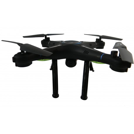 Drona iUni A1 WiFi, Camera 2MP, Frecventa 2.4GHz, Negru