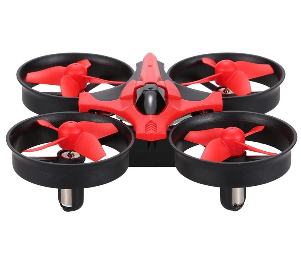 drona iuni n-010, frecventa 2.4ghz, rosu