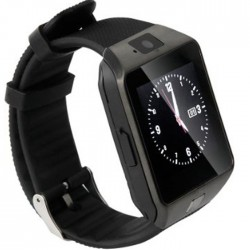 Ceas Smartwatch iUni DZ09 Plus, BT, Camera 1.3MP, 1.54 Inch, Negru