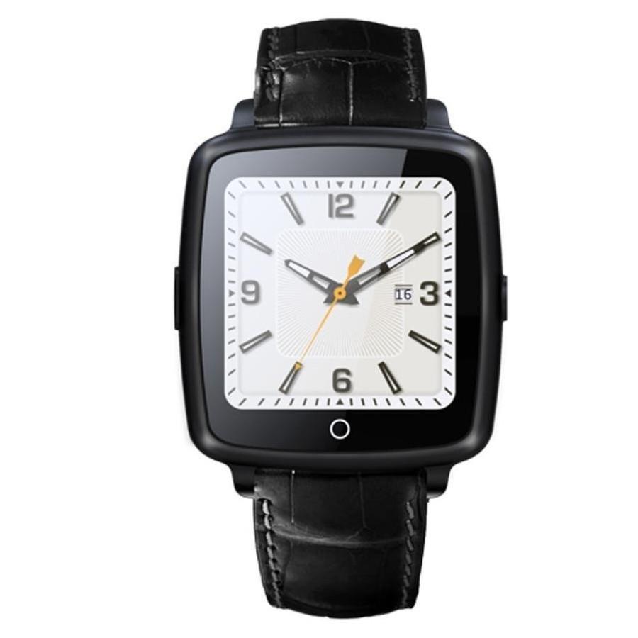 Ceas Smartwatch cu Telefon iUni U11C Plus, Bluetooth, Camera, 1.54 inch, Negru imagine techstar.ro 2021