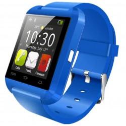Smartwatch iUni U8+, BT, LCD 1.44 inch, Notificari, Albastru