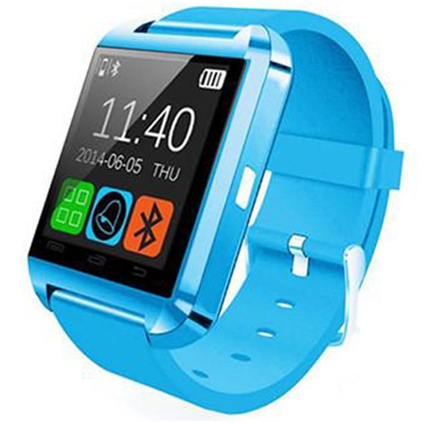 Smartwatch iUni U8+, BT, LCD 1.44 inch, Notificari, Light Blue imagine techstar.ro 2021