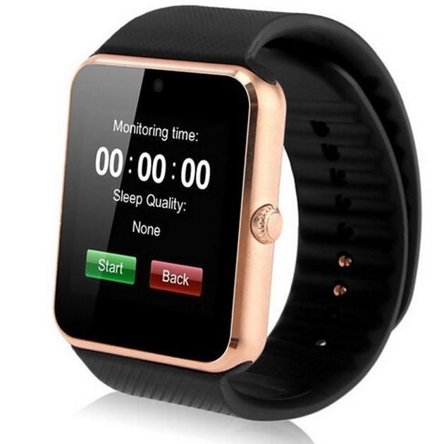 Smartwatch cu Telefon iUni GT08s Plus, Camera, BT, 1.54 inch , Gold