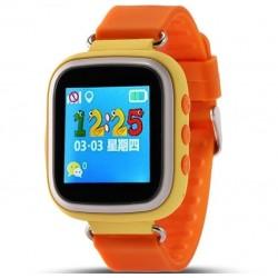 Ceas GPS Copii iUni Kid90, Telefon incorporat, Buton SOS, BT, LCD 1.44 Inch, Orange