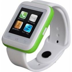 Smartwatch iUni U900i Plus, Bluetooth, LCD 1.44 Inch, Verde