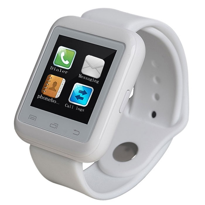 Smartwatch iUni U900i Plus, Bluetooth, LCD 1.44 Inch, Alb