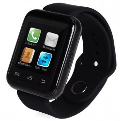 Smartwatch iUni U900i Plus, Bluetooth, LCD 1.44 Inch, Negru