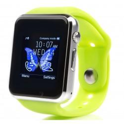 Smartwatch cu Telefon iUni A100i, LCD 1.54 Inch, BT, Camera, Verde