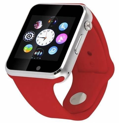 Smartwatch cu Telefon iUni A100i, BT, LCD 1.54 Inch, Camera, Rosu imagine techstar.ro 2021