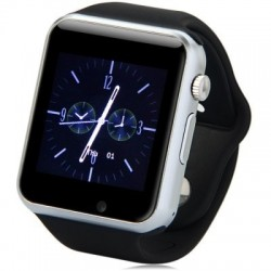 Ceas Smartwatch cu Telefon iUni A100i, BT, LCD 1.54 Inch, Camera, Negru