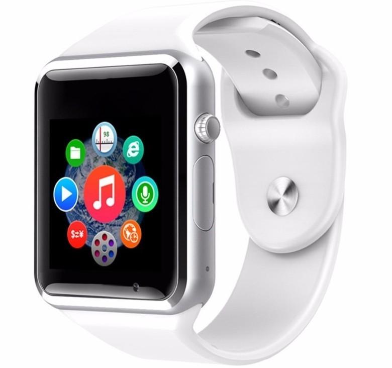 Ceas Smartwatch cu Telefon iUni A100i, BT, LCD 1.54 Inch, Camera, Alb imagine techstar.ro 2021