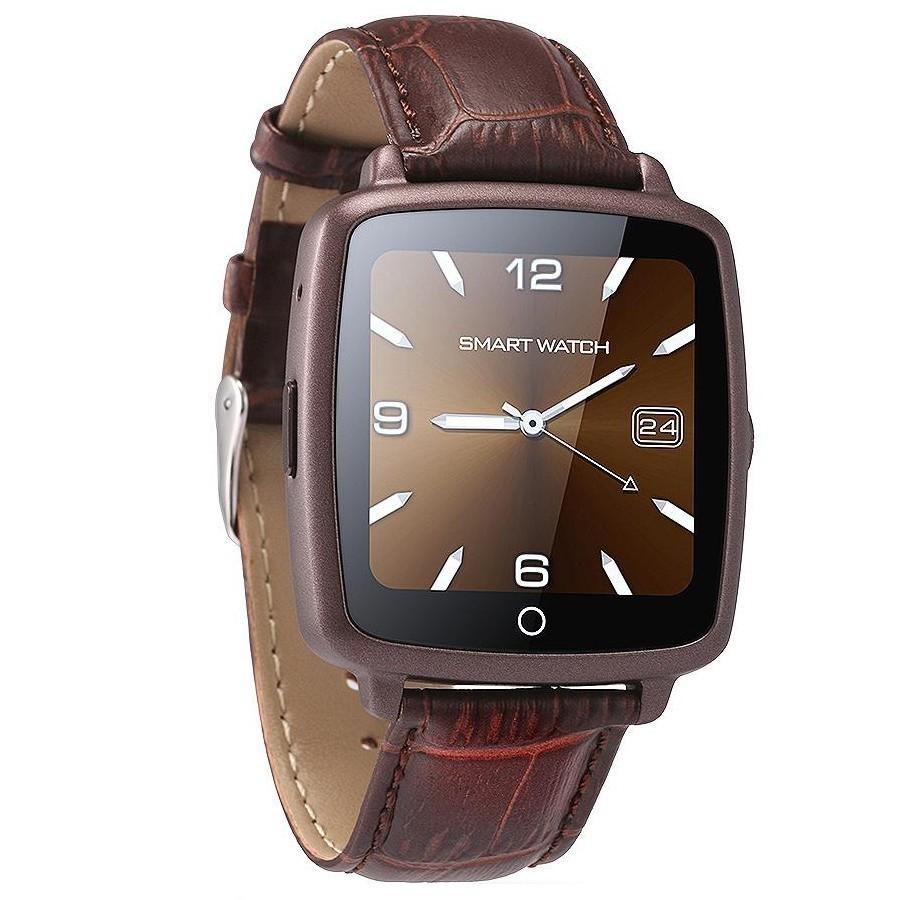 Ceas Smartwatch cu Telefon iUni U11C Plus, Bluetooth, Camera, 1.54 inch, Maro imagine techstar.ro 2021