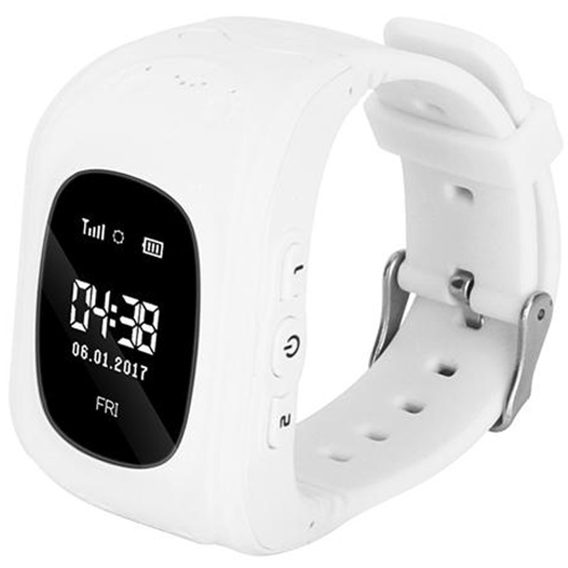 Ceas GPS Tracker si Telefon pentru copii iUni Kid60, BT, Apel SOS, Activity and sleep,White