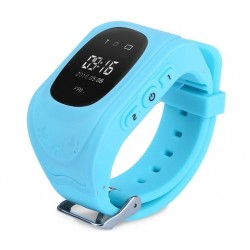 Ceas cu GPS Tracker si Telefon pentru copii iUni Kid60, BT, Apel SOS, Activity and sleep, Albastru