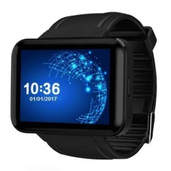 Smartwatch Telefon cu Android iUni DM98, WIFI, 3G, Camera 2 MP, BT, 2,2 Inch, Black