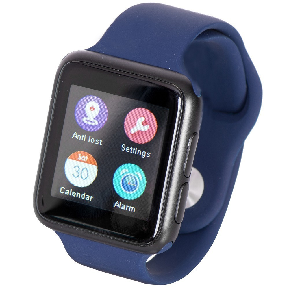 Ceas Smartwatch iUni V9, Bluetooth, LCD 1.44 inch, Procesor 366MHz, Blue imagine techstar.ro 2021