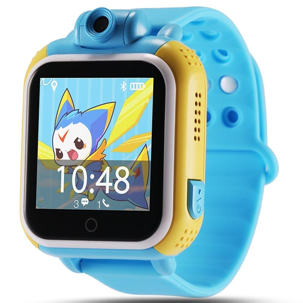 Ceas GPS Copii, iUni Kid730, 3G, DIGI Mobil, Touchscreen, GPS, LBS, Wi-Fi, Camera, buton SOS, Blue imagine techstar.ro 2021