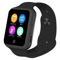 Ceas Smartwatch cu Telefon iUni V88,1.22 inch, BT, 64MB RAM, 128MB ROM, Negru