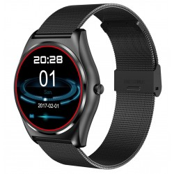 Ceas Smartwatch iUni N3 Plus, BT, 1.3 Inch, IOS si Android, Negru