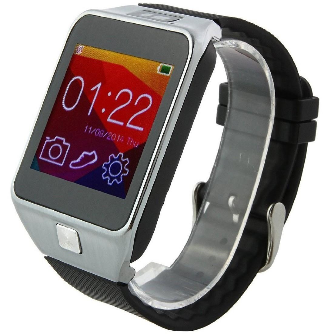 Smartwatch iUni U18 Slim, BT, 1.5 inch, Pedometru, Notificari, Argintiu