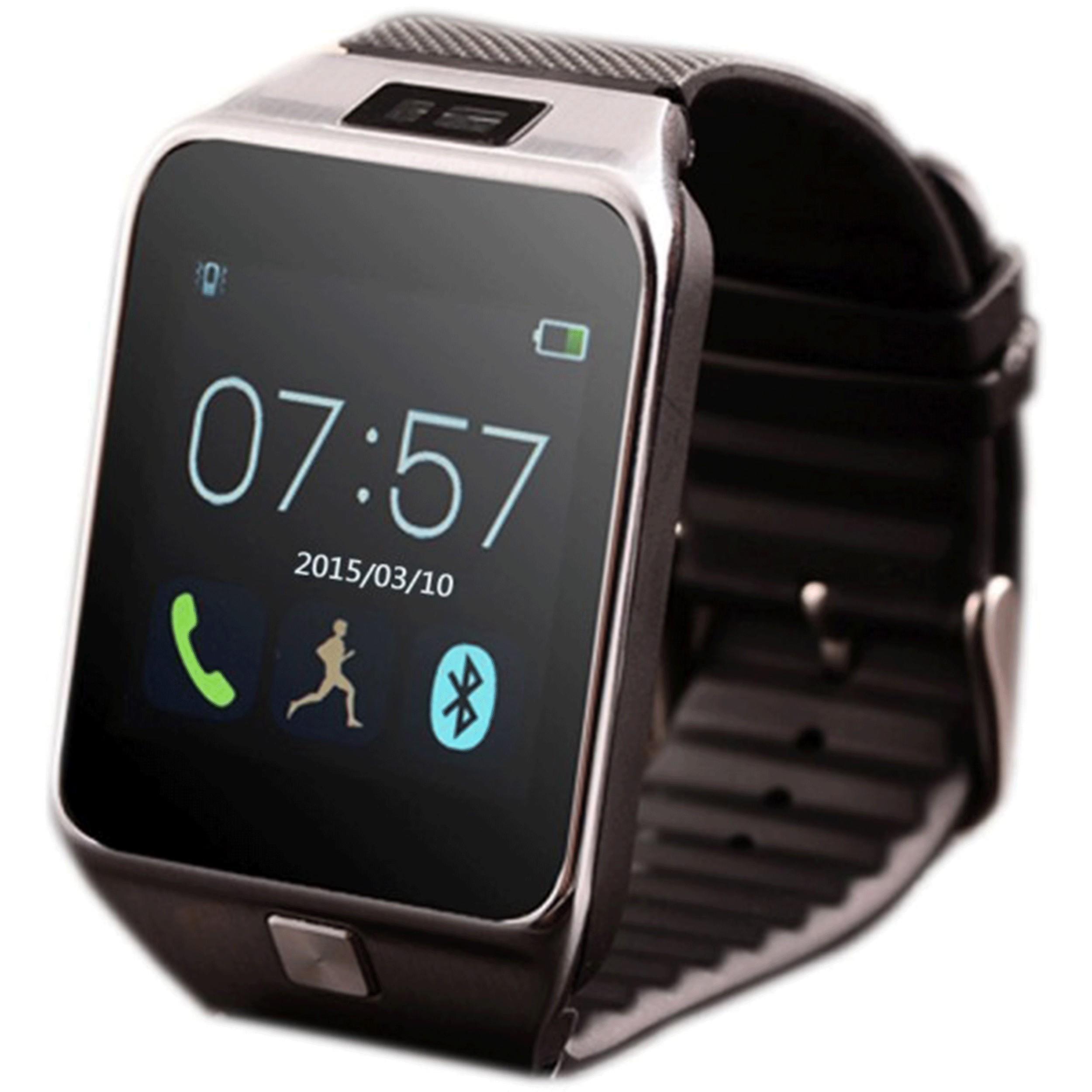 Smartwatch iUni U18 Slim, BT, LCD 1.5 inch, Pedometru, Negru imagine techstar.ro 2021