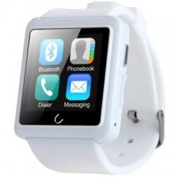 Smartwatch U-Watch BT-U10L Alb cu Radio FM