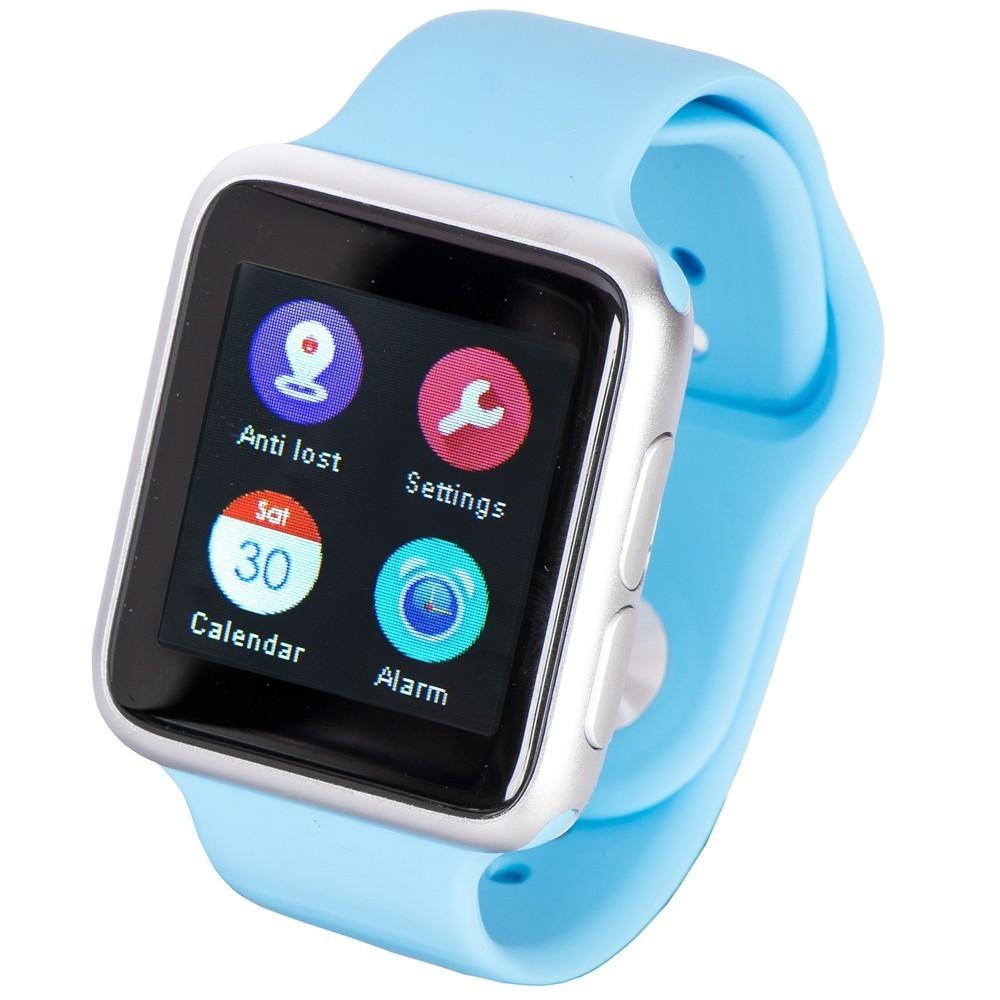 Ceas Smartwatch iUni V9, Bluetooth, LCD 1.44 inch, Procesor 366MHz, Albastru imagine techstar.ro 2021