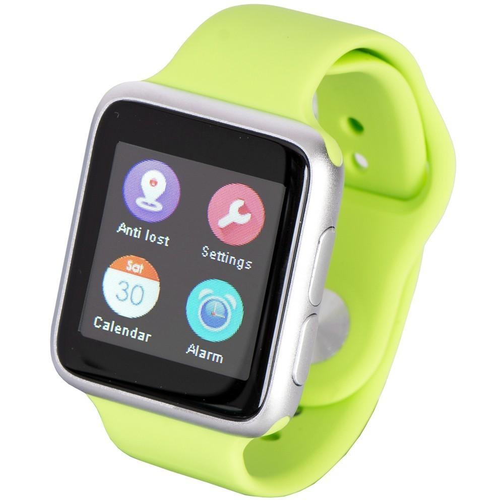 Ceas Smartwatch iUni V9, Bluetooth, LCD 1.44 inch, Procesor 366MHz, Verde imagine techstar.ro 2021