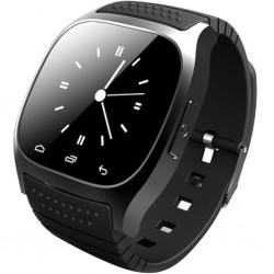 Smartwatch iUni U26 Bluetooth, 1.5 inch, BT, Notificari, Negru