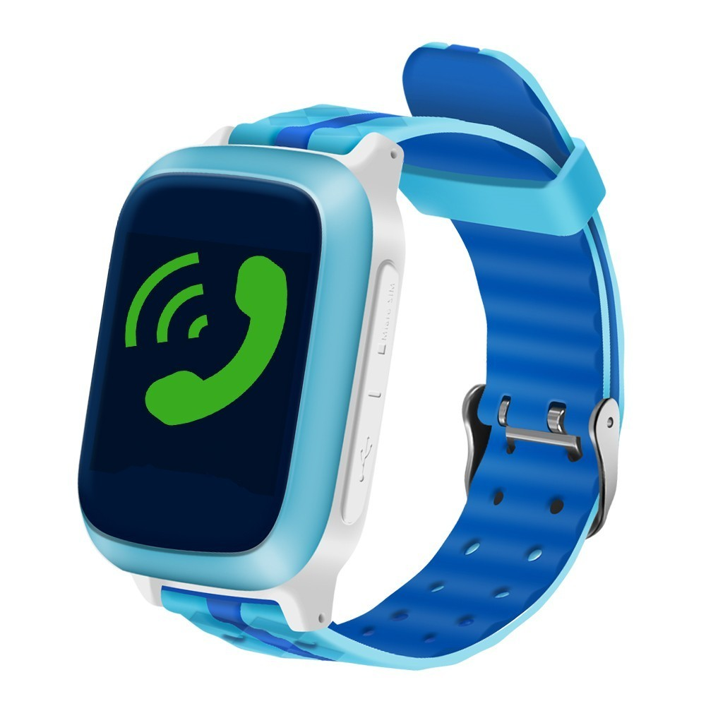 Ceas GPS Copii iUni Kid18, Telefon incorporat, Alarma SOS, 1.44 Inch, Blue imagine techstar.ro 2021