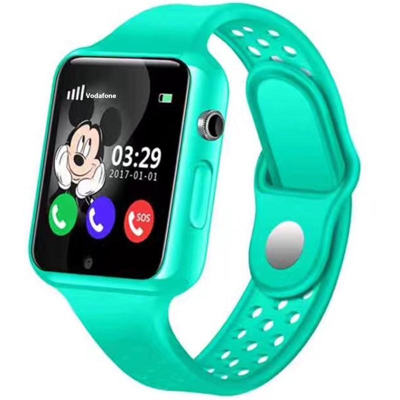 Ceas GPS Copii iUni Kid98, Telefon incorporat, Touchscreen 1.54 inch, Bluetooth, Notificari, Camera, Verde imagine techstar.ro 2021