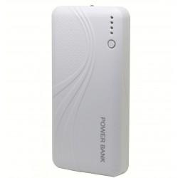Baterie externa iUni PB15, 11000mAh, Dual USB, Powerbank, White
