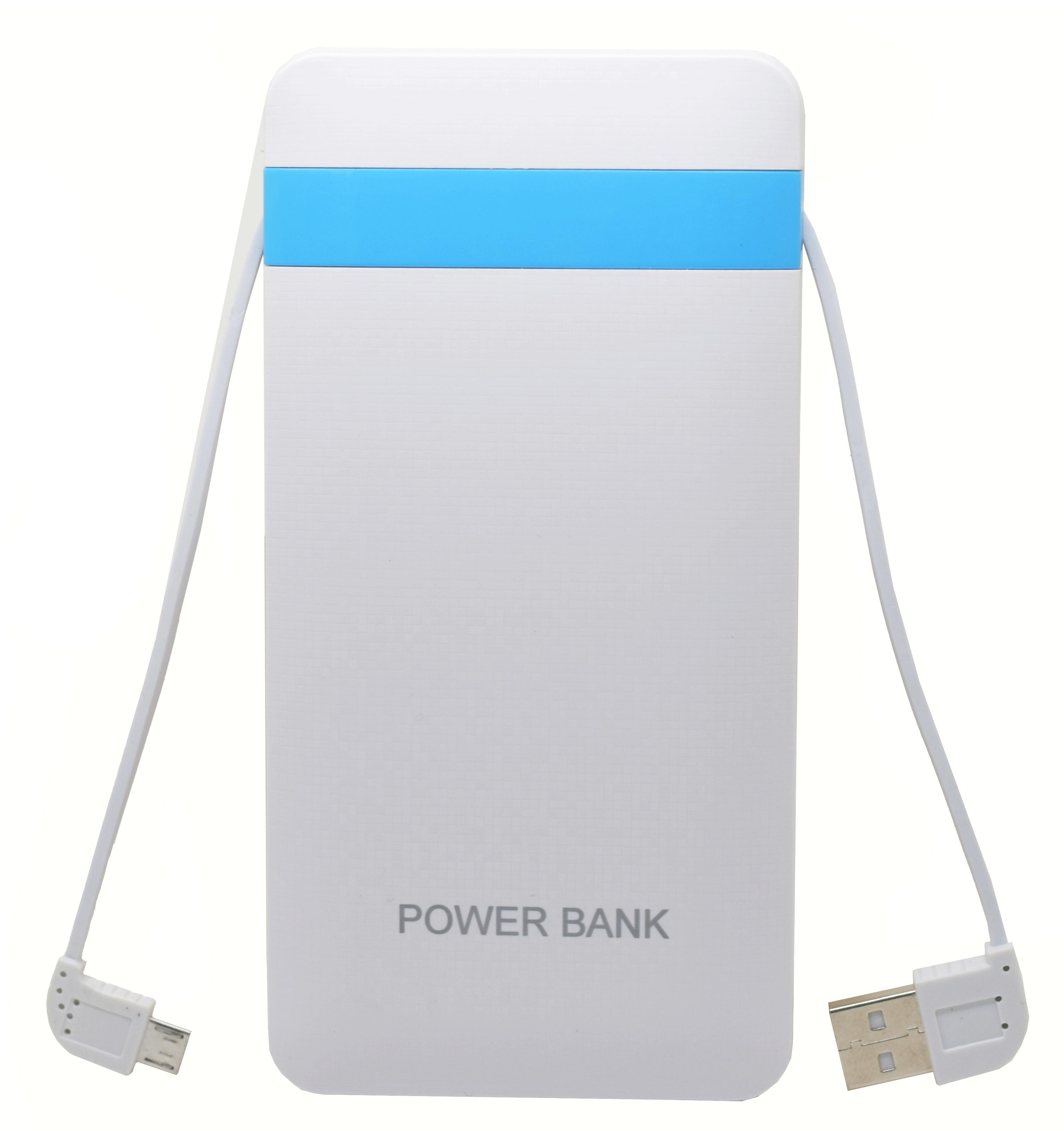 Baterie externa iUni PB16, 10000mAh, Dual USB, Powerbank, White imagine techstar.ro 2021