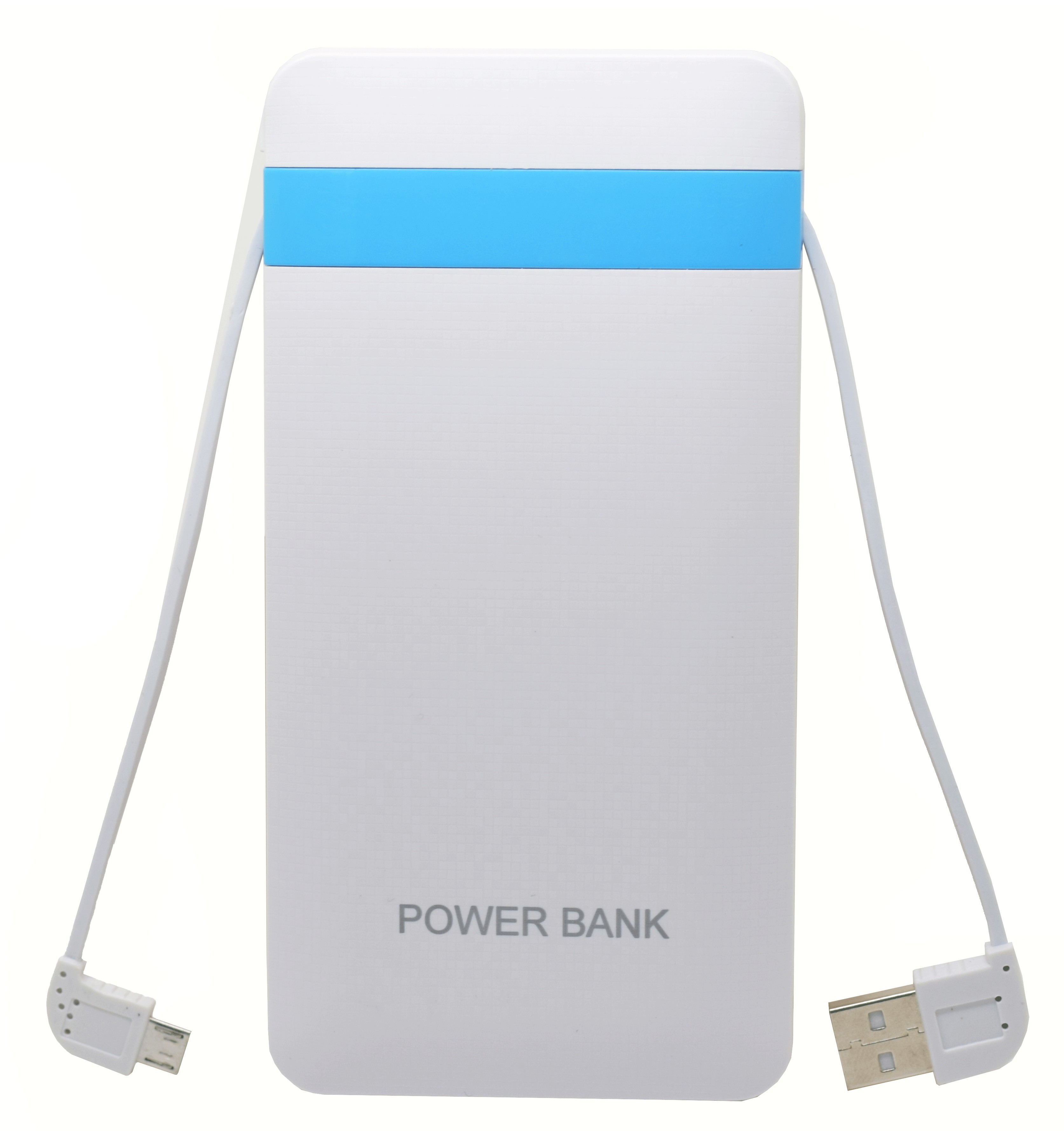 Baterie Externa Iuni Pb16, 10000mah, Dual Usb, Powerbank, White
