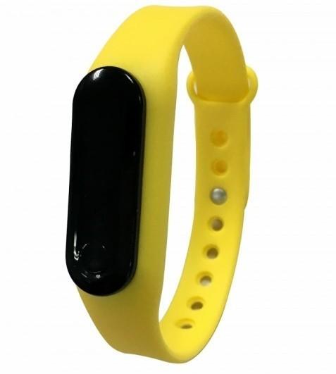 Bratara fitness iUni Z6i, LCD 0.69 inch, Bluetooth, Activity and Sleep, Galben imagine techstar.ro 2021