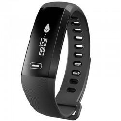 Bratara fitness iUni N2s, Bluetooth, LCD 0.86 inch ,Notificari, Pedometru, Monitorizare Sedentarism, Puls, Oxigen sange, Black