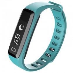 Bratara fitness iUni G16, Bluetooth, LCD 0.86 inch ,Notificari, Pedometru, Monitorizare Sedentarism, Puls, Oxigen sange, Blue