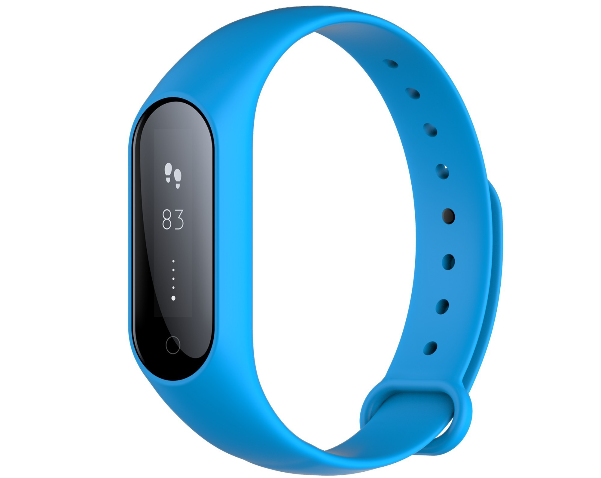 Bratara fitness iUni Y3, Bluetooth, display OLED, Notificari, Pedometru, Monitorizare Sedentarism, Puls, Blue imagine techstar.ro 2021