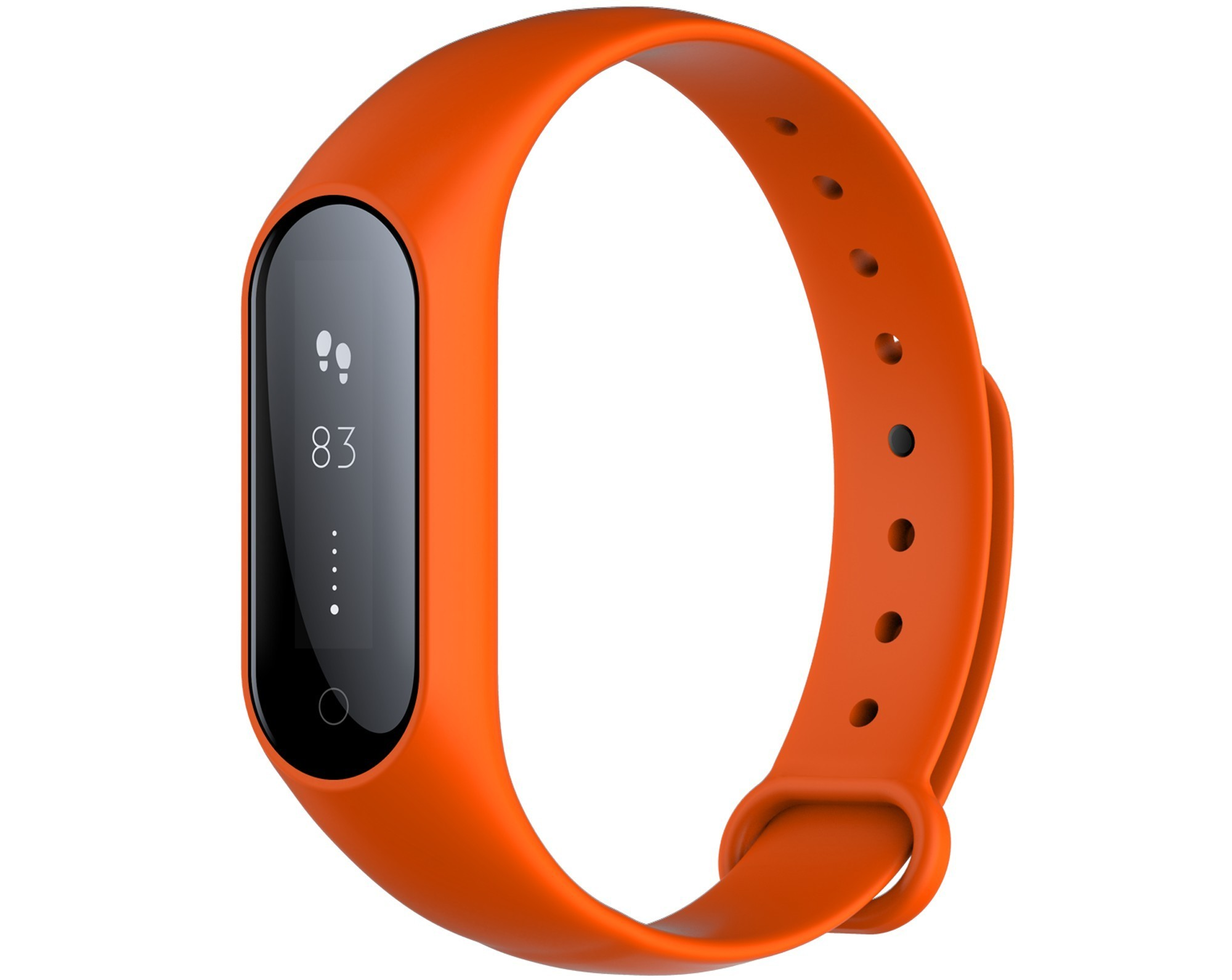 Bratara fitness iUni Y3, Bluetooth, display OLED, Notificari, Pedometru, Monitorizare Sedentarism, Puls, Oxigen sange, Orange imagine techstar.ro 2021