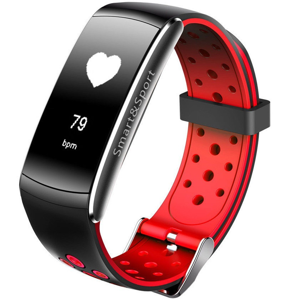 Bratara Fitness iUni Z11 Plus, Display OLED, Bluetooth, Pedometru, Monitorizare puls, Notificari, Android si iOS, Rosu imagine techstar.ro 2021
