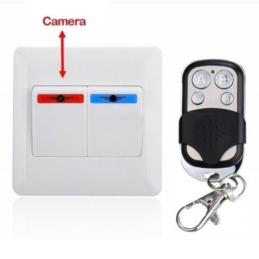 Intrerupator cu Camera Ascunsa iUni SpyCam, audio-video